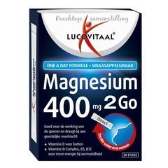 Lucovitaal Lucovital Magnesium 400 2go 20 Beutel