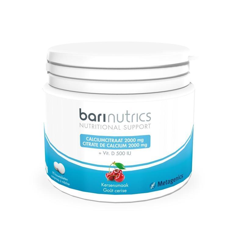 Barinutrics Barinutrics Calciumcitrat Kirsche 90 Tabletten