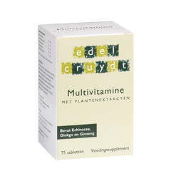 Edelcruydt Multivitamin 75 Tabletten