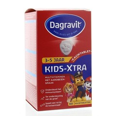 Dagravit Multi Kindererdbeere 3-5 Jahre 60 Kautabletten