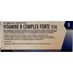 Teva Vitamin B Komplex für 30 Tabletten