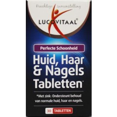 Lucovitaal Lucovital Skin Haarnägel 30 Tabletten