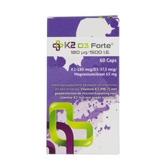 K2 Medical Care K2 D3 Forte 60 Kapseln.