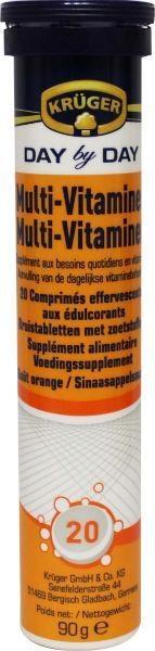 Kruger Kruger Multi Vitamin Brausetabletten 20 Tabletten