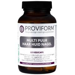 Proviform Multi pure Haut Haarnagel 60 Kapseln
