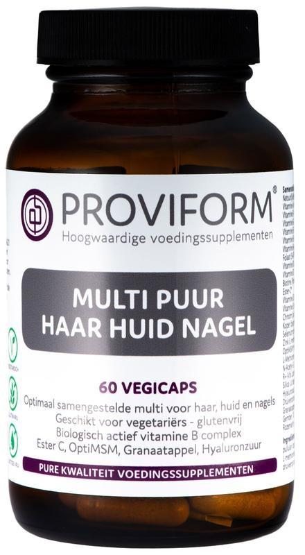 Proviform Proviform Multi pure Haut Haarnagel 60 Kapseln