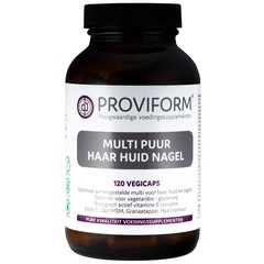 Proviform Multi pure Haut Haarnagel 120 Kapseln