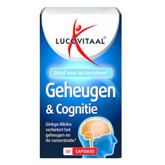 Lucovitaal Memory & Cognition 30 Kapseln.