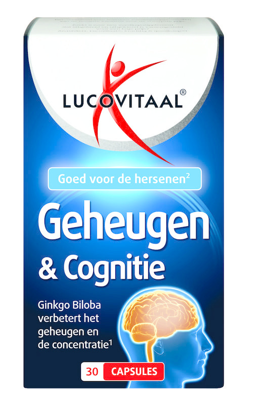 LUCOVITAAL Lucovitaal Memory & Cognition 30 Kapseln.