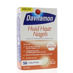 Davitamon Skin Haarnägel 56 Tabletten