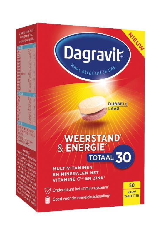 Dagravit Dagravit Total 30 Resistenz & Energie 50 Tabletten