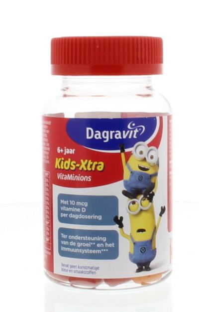 Dagravit Dagravit Kids-Xtra Vitaminions Zahnfleisch 6+ 60 Gummis