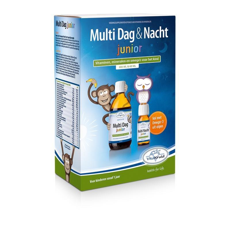 Vitakruid Vitakruid Vita Herb Multi Tag & Nacht junior 360 ml