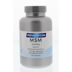 Nova Vitae MSM 1000 mg 100 Kapseln