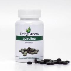 Livinggreens Spirulina Tabletten 250 Tabletten