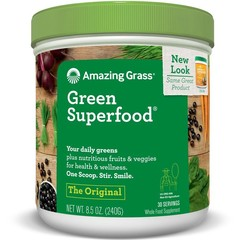 Amazing Grass Erstaunliches grasgrünes ursprüngliches superfood 240 Gramm