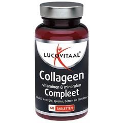 Lucovitaal Lucovital Collagen Vitamine & Mineralien vervollständigen 60 Tabletten