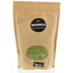 Hanoju Bio Moringa Oleifera ganzes Blatt Pulver 500 Gramm