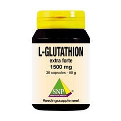 SNP L Glutathion extra forte 1500 mg 30 Kapseln
