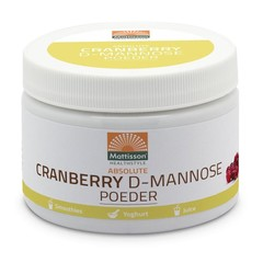 Mattisson Cranberry D-Mannose Pulver 100 Gramm