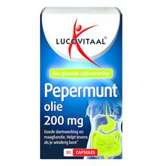 Lucovitaal Lucovital Pfefferminzöl 30 Kapseln.
