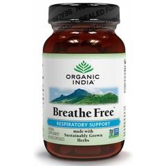 Organic India Bio-Indien Atme frei Bio-Kapseln 90 Kapseln