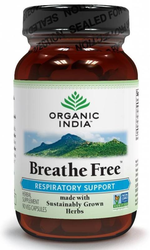Organic India Organic India Bio-Indien Atme frei Bio-Kapseln 90 Kapseln