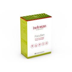 Nutrisan Focusan 30 Kapseln