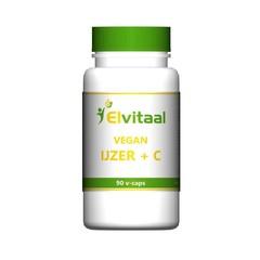 Elvitaal Eisen mit Vitamin C vegan 90 Kapseln