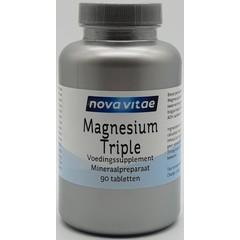 Nova Vitae Magnesiumcitrat-Bisglycinat-Malat 90 Tabletten