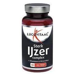 Lucovitaal Lucovital Strong Eisenkomplex 60 Tabletten