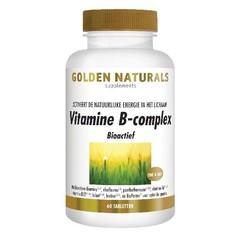 Golden Naturals Vitamin B Komplex 60 Tabletten