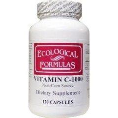Ecological Form Ökologische Form Vitamin C 1000 mg ökologische Formel 120 Kapseln.