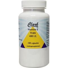 Clark Vitamin E 400 IE 100 Kapseln.