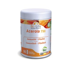 Be-Life Acerola 750 bio 50 Weichgele