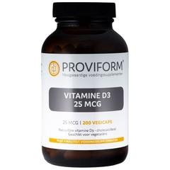 Proviform Vitamin D3 25 mcg 200 vcaps