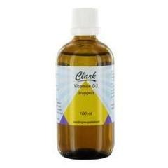Clark Vitamin D3 Flüssigkeit 100 ml