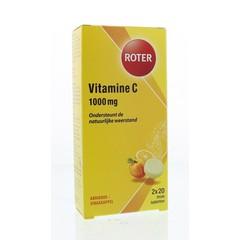 Roter Vitamin C 1000 mg Orangen- und Aprikosen-Duo 40 Brausetabletten