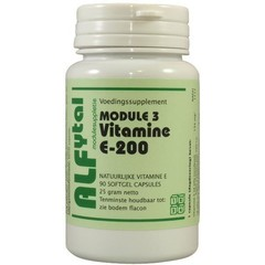 Alfytal Vitamin E-200 90 Kapseln.