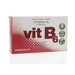 Soria Vitamin B6 verzögert 1,4 mg 48 Tabletten