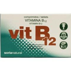Soria Vitamin B12 verzögert 2,5 µg 48 Tabletten