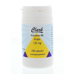 Clark Vitamin B6 125 mg 100 vcaps