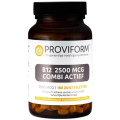 Proviform Vitamin B12 2500 mcg kombinierte aktive 180 Lutschtabletten