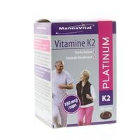 Mannavital Mannavital Vitamin K2 Platin 60 Kapseln.