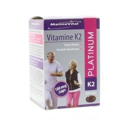 Mannavital Vitamin K2 Platin 60 Kapseln.
