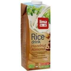 Lima Reisgetränk Mandel Haselnuss 1 Liter