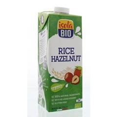 Isola Bio Haselnuss Reisgetränk 1 Liter