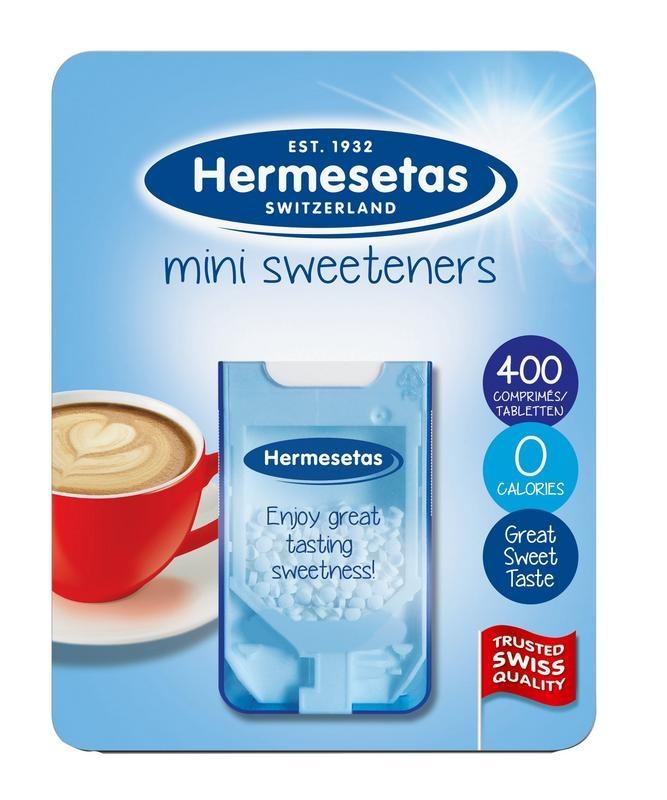 Hermesetas Hermesetas Hermesetas süß 400 Tabletten
