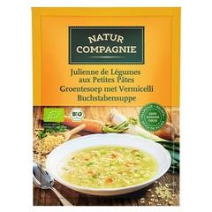 Natur Compagnie Gemüsesuppe mit Fadennudeln 50 Gramm
