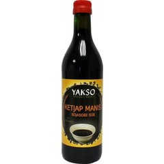 Yakso Ketjap Manis Bio 500 ml